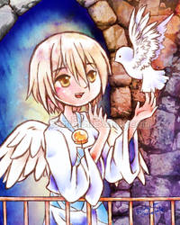Angel and Dove