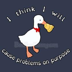 Mischievous Goose T-Shirts