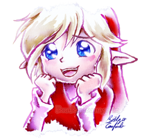 Red Link with GREAT BIG SPARKLING EYES