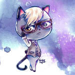 Animal Crossing: New Horizons Business Cat Raymond