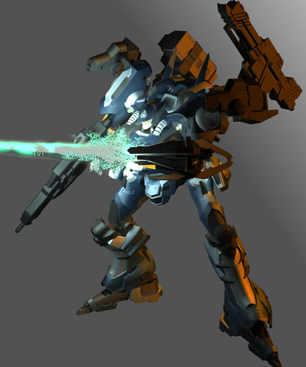 Armored core Nexus by JunkyJack