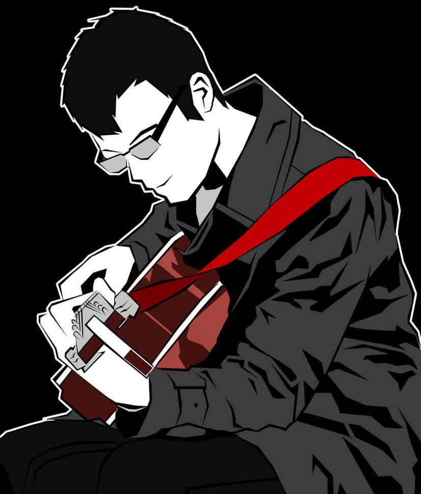 Guitarist by Zero4bx