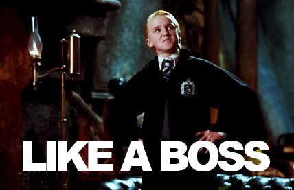Draco Malfoy is Like a Boss by dimi546
