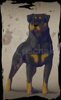 Rottweiler by KeechakVarg