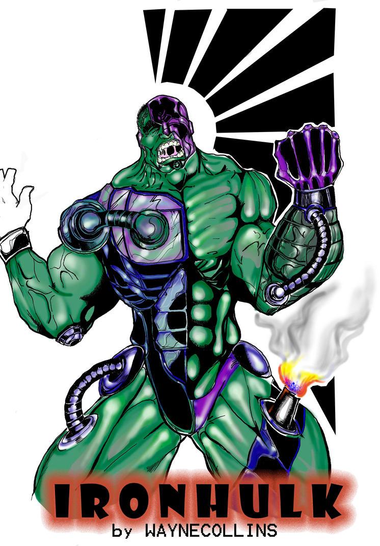iron hulk colored by blairstudiosIron Hulk