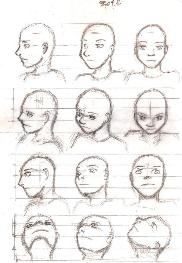 Facial Proportions Worksheet - Google Drive | Portraiture/Figure ...