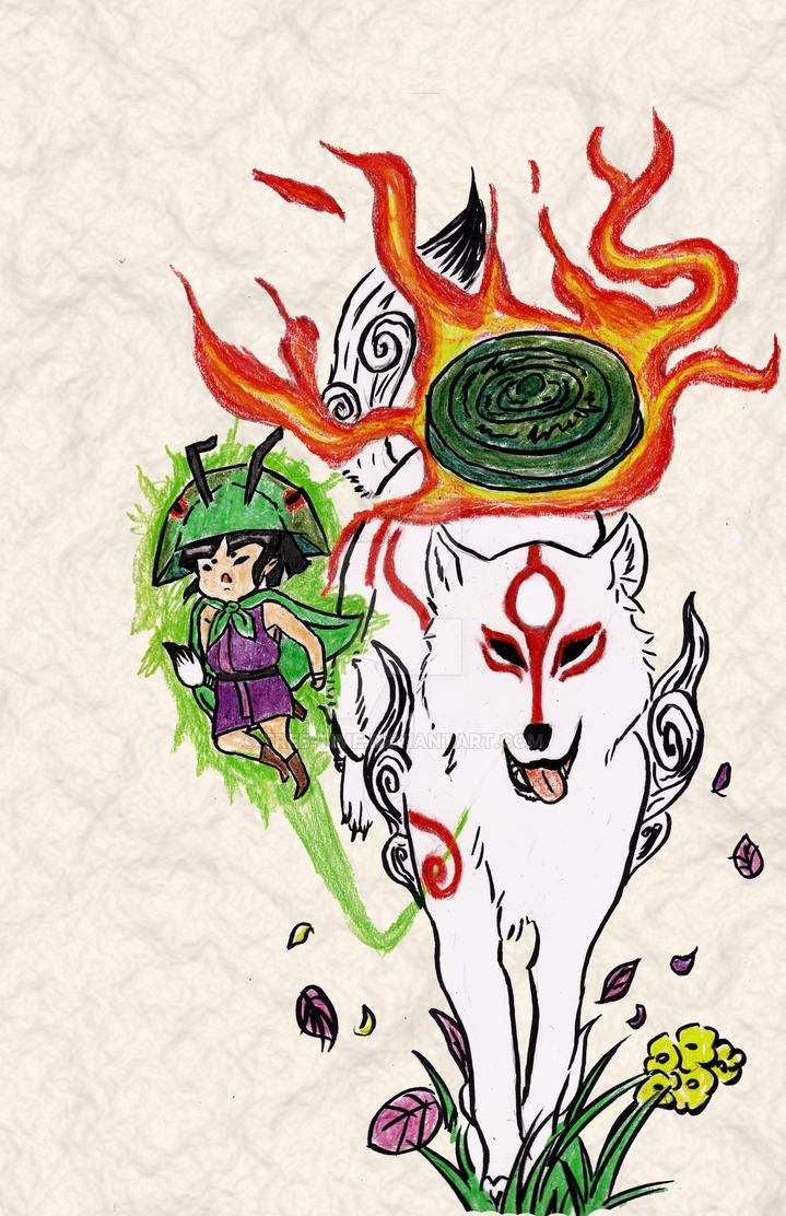 Okami Fanart By Tree Time On Deviantart