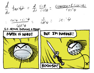 Math Is Hard by Inkmo