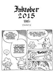 Inktober 2015 1 by Inkmo