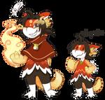 Hui aura froms by Tigress144