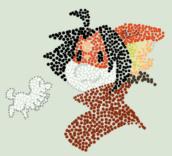 Style Challenge (Jan 4) Pointilism by Tigress144