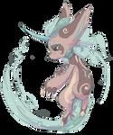 Kijin Eather bean form by Tigress144