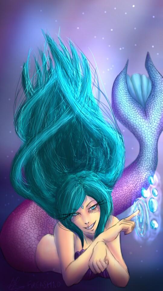 Mermaid by FireAsh1000