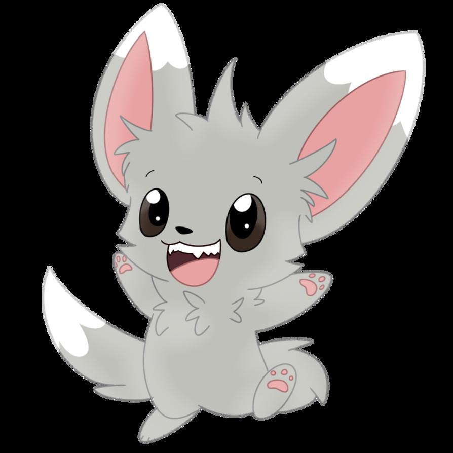 minccino the chinchilla pokemon by niqhtowi