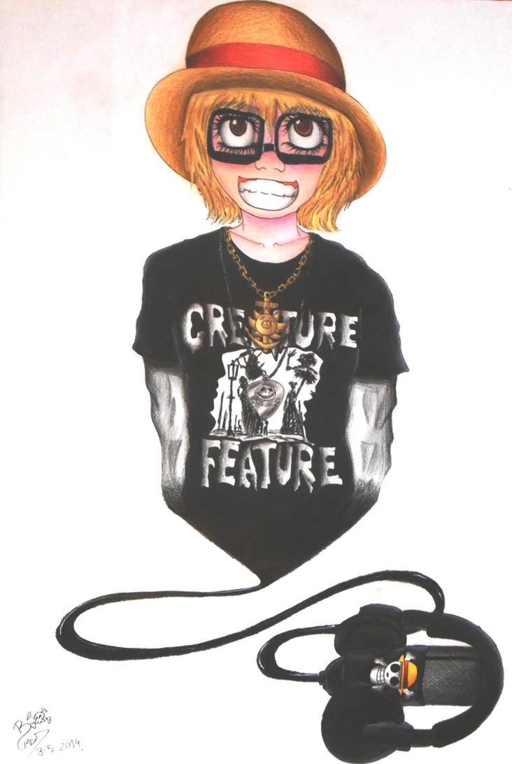 Self portrait by MiniAliceSuperstar