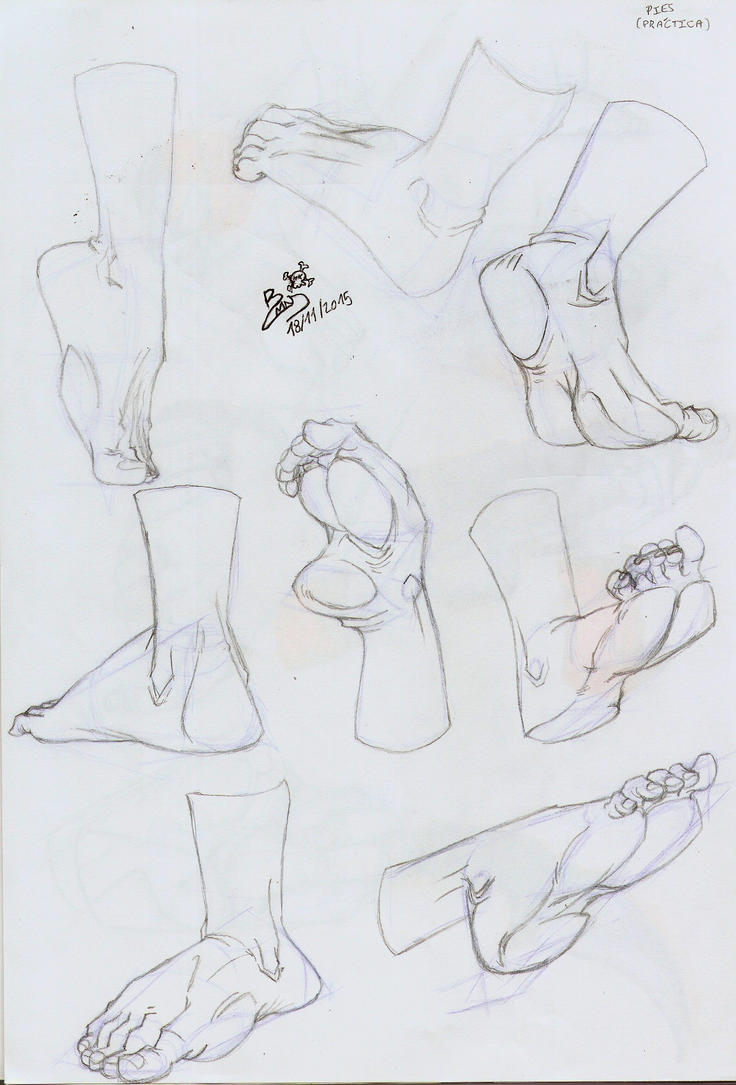 ESDIP - Feet practice by MiniAliceSuperstar