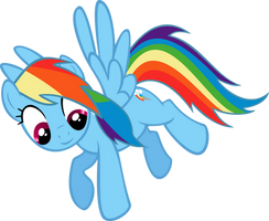 Rainbow Dash by BronyB34r