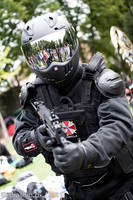 Umbrella Corp security force by MortenW