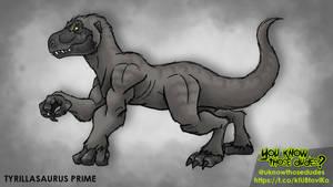 Tyrillasaurus by AJvdW
