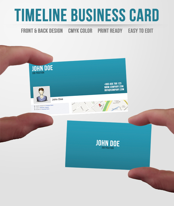 facebook timeline business card by ditch designs on deviantart