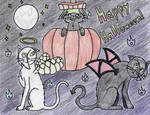 Happy Halloween! by Jade-of-the-Stones