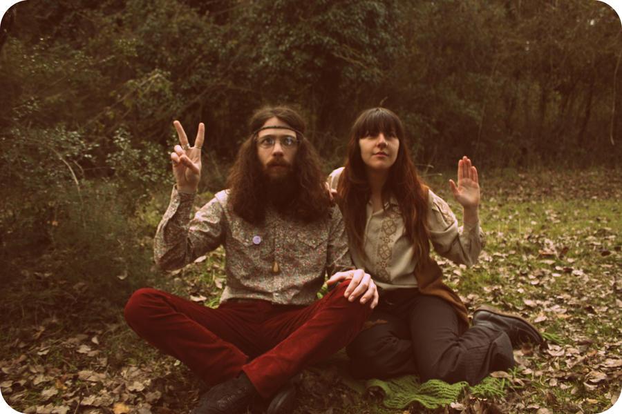 My hippie friends:P No7 by nikolkri