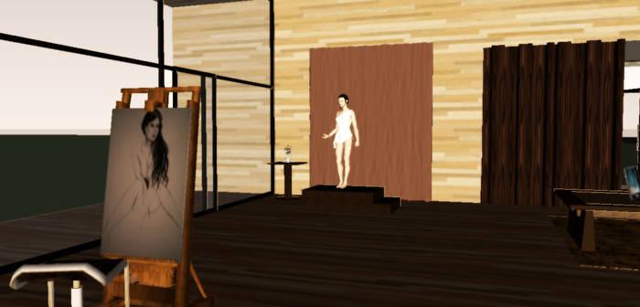 Art Studio Interior 1