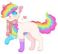 (ONLY FOR PERSONAL USE) The sweetest rainbow by Ainat-01