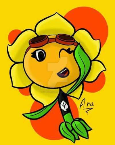 Flor Solar - Oc by AnaRodriguez114