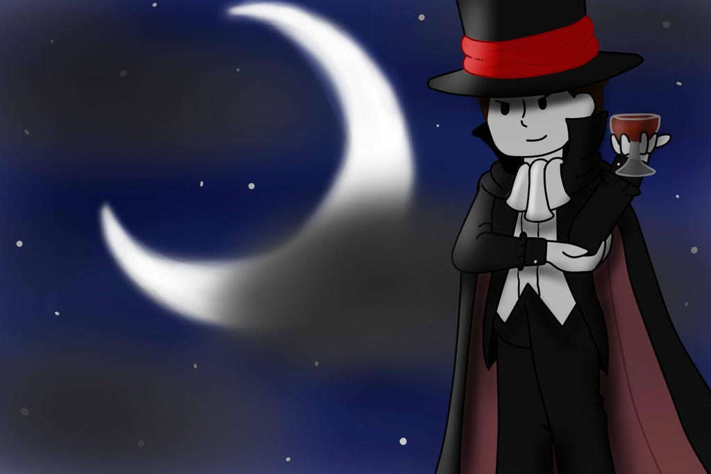 Halloween 2014- Moonlight Delgiht by SilverAngle