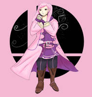 Pink Robin by Redjiggs