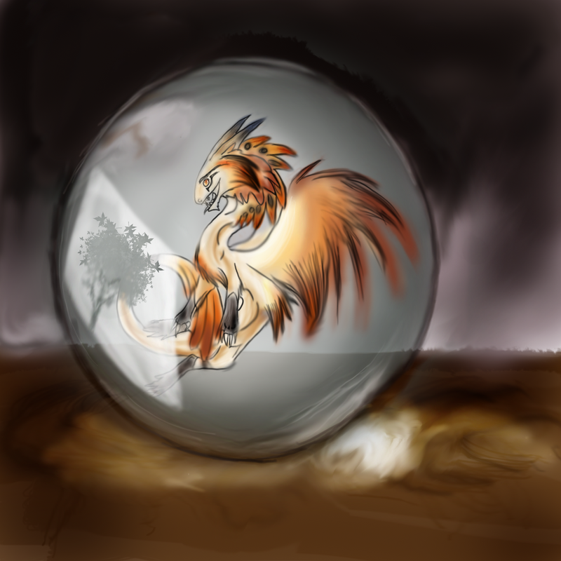 orb dragon by celticessence