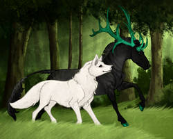 Cailan   Stag   Austerian King by ChrissyMax