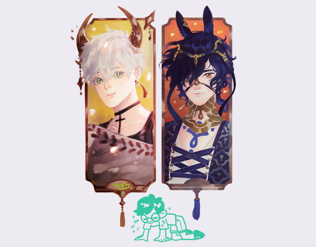 Bookmark sample by petitster