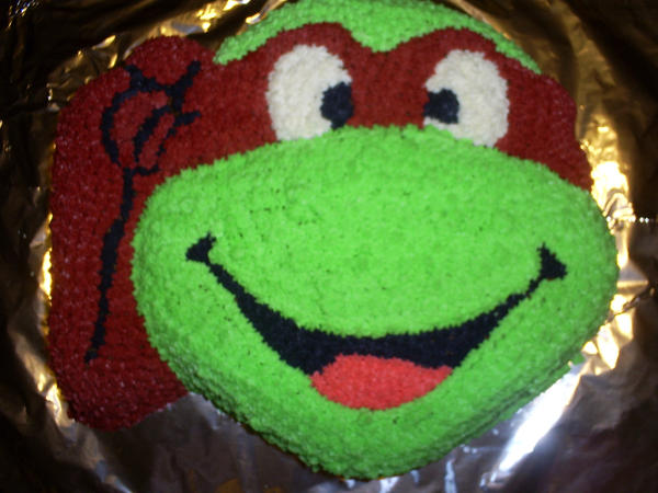 Ninja Turtle Cake by Robison300 on DeviantArt