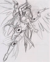 Akroma Angel of Wrath by shinjistrikes