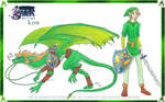 Link from Hylian Dragons