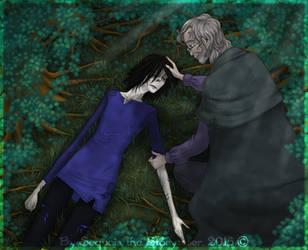 Death Came Knocking (illustration) by SekoiyaStoryteller