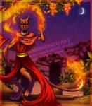 Fire Fossa (commission)