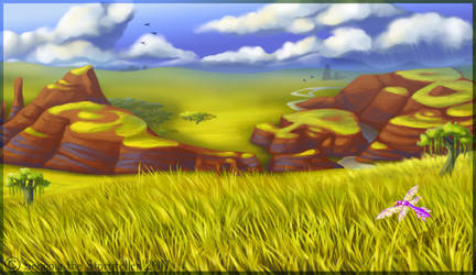 Gilded Bowl scenery (for Yowler and Draggin)