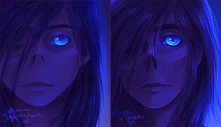 Blue Lady: Redraw
