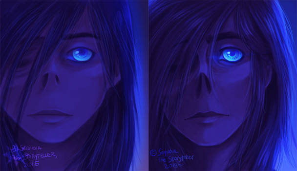 Blue Lady: Redraw