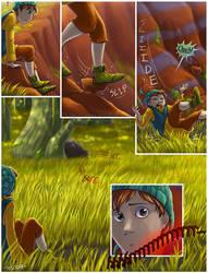 Yowler and Draggin, page 22 by SekoiyaStoryteller