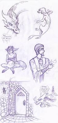 ~speculative pencildoodles~