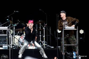 KMFDM HELLFEST 2010 by snapboy