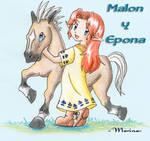 Malon y Epona