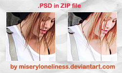 psd, miley by miseryloneliness