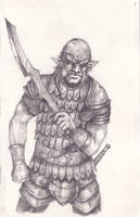 Hobgoblin Warrior by Morcath
