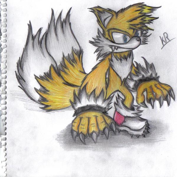 tail's the werefox by werehog-fanclub on DeviantArt Sonic The Werehog And Tails The Werefox