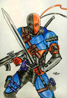 Deathstroke The Terminator by RedWing99